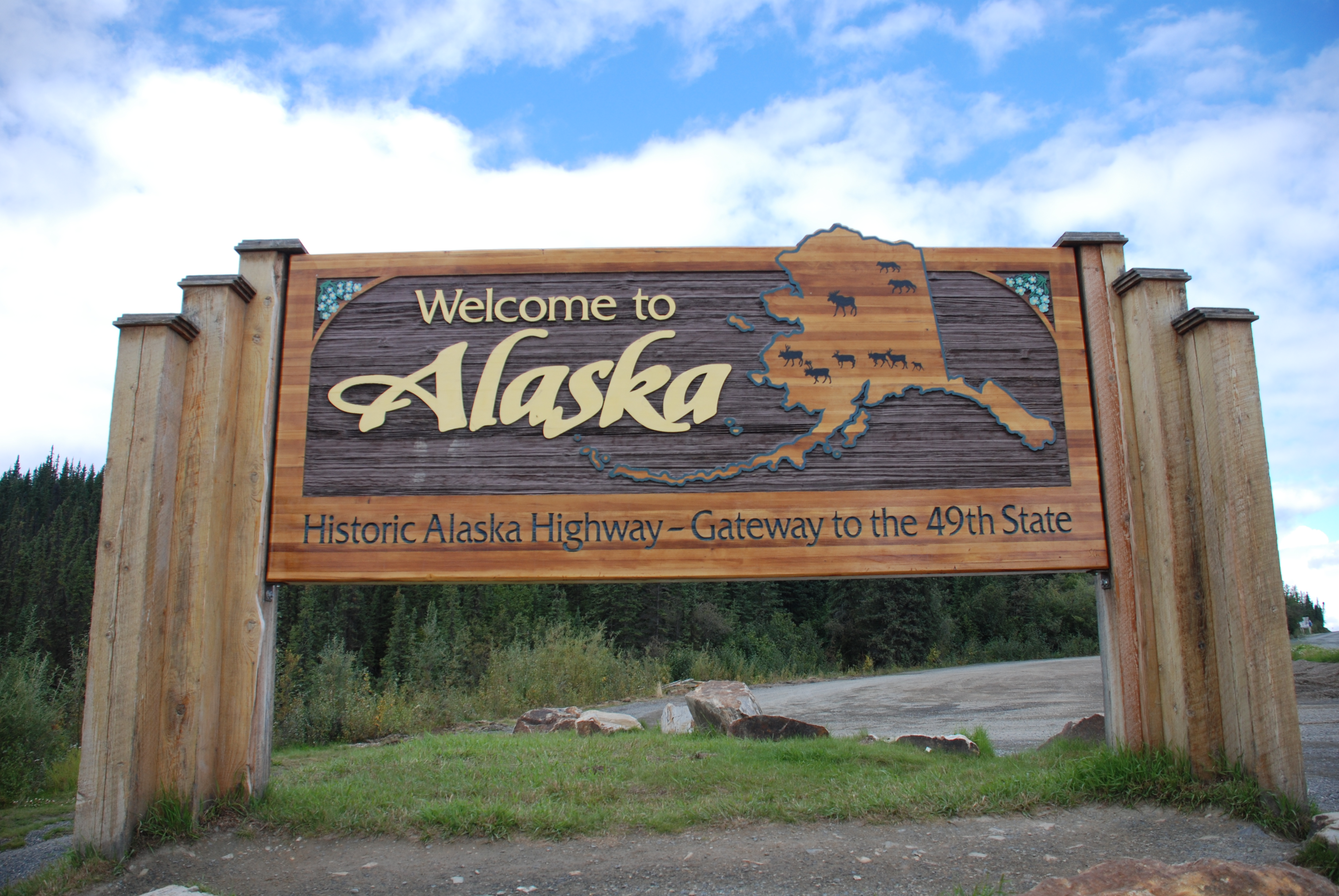 Alaska Welcome Sign Project